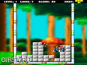 Флеш игра онлайн Sonic Blox