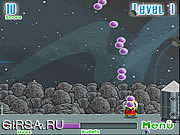 Флеш игра онлайн Обезьяна космоса