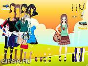 Флеш игра онлайн Summer Beauty Dressup