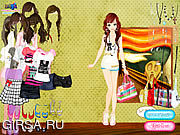 Флеш игра онлайн Summer Looks Dressup