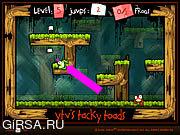 Флеш игра онлайн Tacky Toads