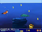 Флеш игра онлайн Игрушечный идет поплавать / Teddy Goes Swimming
