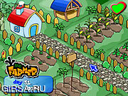 Флеш игра онлайн Фермер