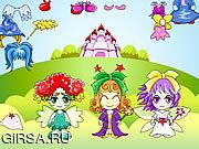 Флеш игра онлайн Три Фея Dressup / Three Fairy Dressup