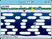 Флеш игра онлайн Тобби На Льду