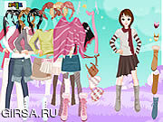 Флеш игра онлайн Winter Dressup 4