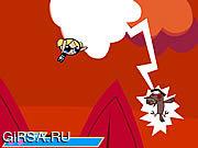 Флеш игра онлайн Девушки Powerpuff: Zombgone / Powerpuff Girls: Zombgone