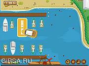Флеш игра онлайн Яхты в доке / Yacht Docking