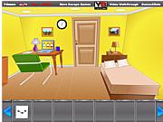 Флеш игра онлайн Желтая комната
