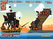 Флеш игра онлайн Йо-Хо-Хо Кэннон / Yo-Ho-Ho Cannon
