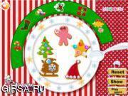 Флеш игра онлайн Вкусное рождественское печенье / Yummy Christmas Cookies