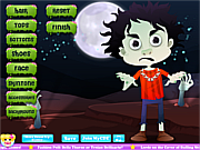 Флеш игра онлайн Наряд Зомби