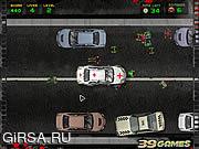 Флеш игра онлайн Зомбоватый водитель