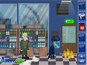 Флеш игра онлайн Наводнение зомби / Zombie Flood