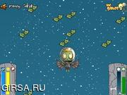 Флеш игра онлайн Zombie Heading to the Moon