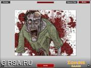 Флеш игра онлайн Zombie Puzzle Game