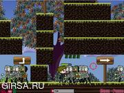 Флеш игра онлайн Деревня Зомби / Zombie  Village