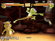 Флеш игра онлайн Zombie vs Hamster