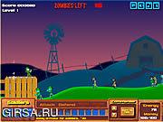 Флеш игра онлайн Война  Зомби / Zombie War