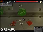 Флеш игра онлайн Зомби пещера / Zombie Hole