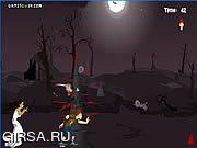 Флеш игра онлайн Zombie Kiss