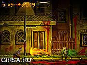 Флеш игра онлайн Бунт зомби