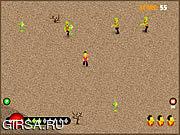 Флеш игра онлайн Бег зомби / Zombie Run