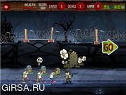 Флеш игра онлайн Остров зомби 2 / Zombies Island 2