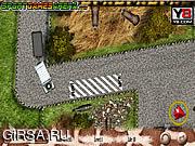 Флеш игра онлайн Парковка в зоопарке / Zoo Parking